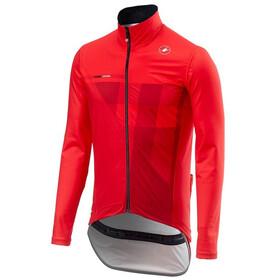 Castelli Pro Fit Light Rain Jacket Men red